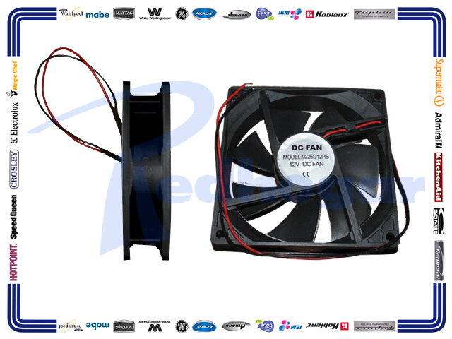 MOTOR 12V DC FAN 12HRS