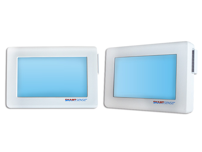 TERMOSTATO  PROGRAMABLE DE PARED DIGITAL A/A 24-30V  TOUCHSCREEN  FUNCIONES CALOR/FRIO