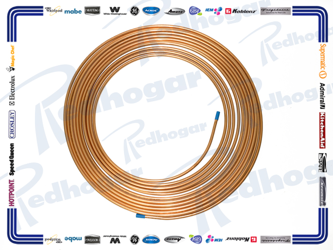 TUBO FLEXIBLE ROLLO 5/16