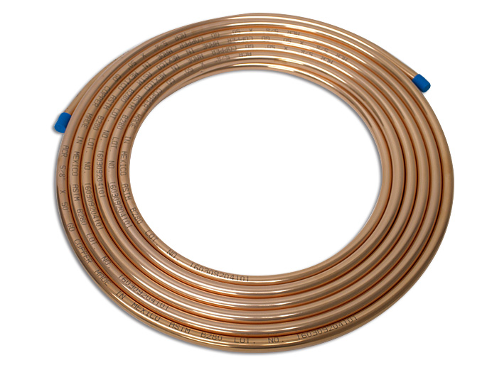 TUBO FLEXIBLE 5/8 COBRE COPPER