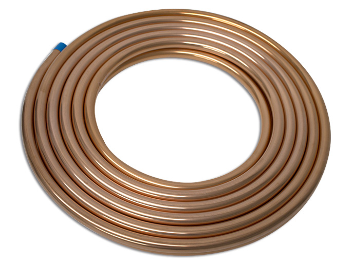 TUBO FLEXIBLE 7/8 COBRE COPPER