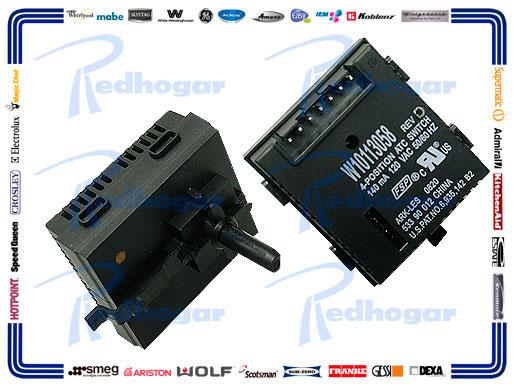 MICROSWITCH 4 POS, 140MA, 120 VAC, 50/60HZ USAR W10184148