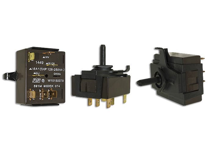 MICROSWITCH 16A, 1/2HP, 125/250VAC USAR 8280503