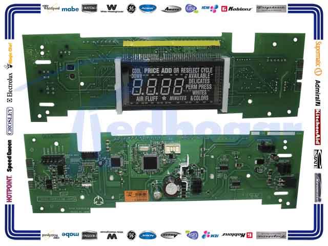CONTROL ELECTRONICO WH USAR W10166385 w10137416