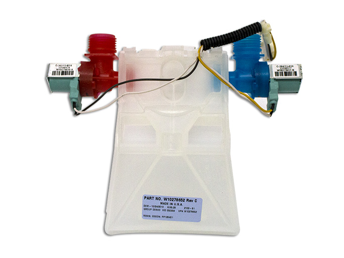 ELECTROVALVULA BAJA PRESION CON DISPENSER usar W910010004