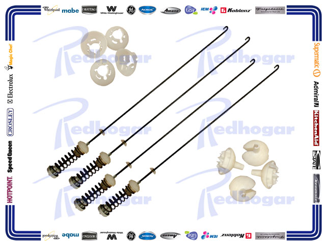KIT SUSPENSION MISMO W10485421, W10110314, W10110313