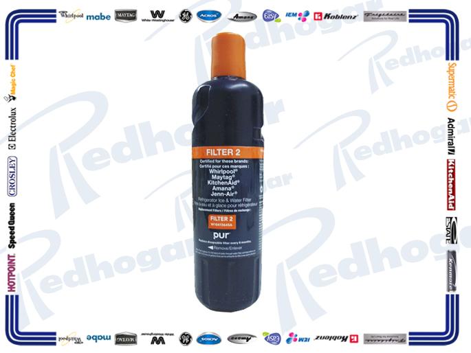 FILTRO AGUA usar W10790814, EDR2RX, W10790814-WHI