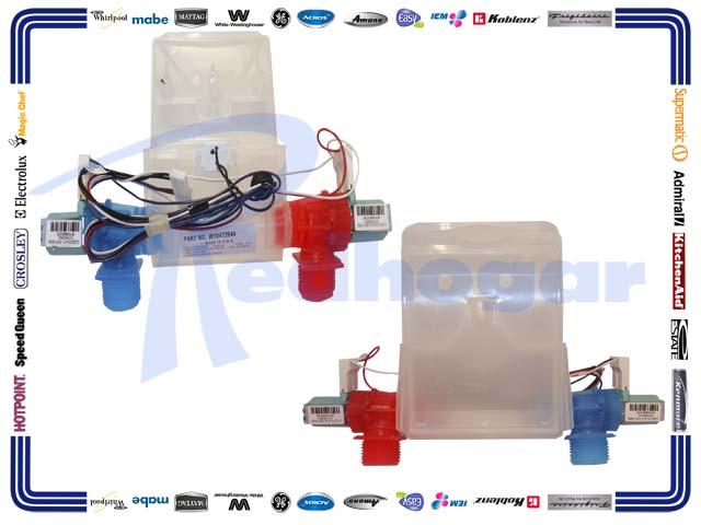 ELECTROVALVULA C/TERMISTOR ROCIADOR RECTO  usar W10683653