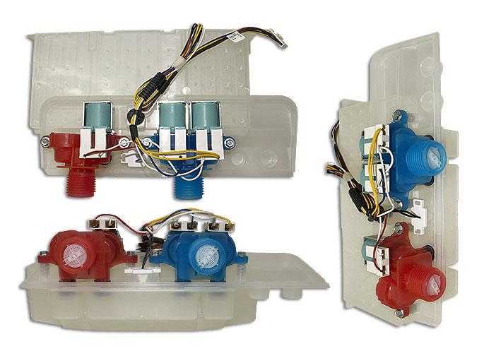 ELECTROVALVULA C/DISPENSER usar W10432327 WPW10601447 W10240963