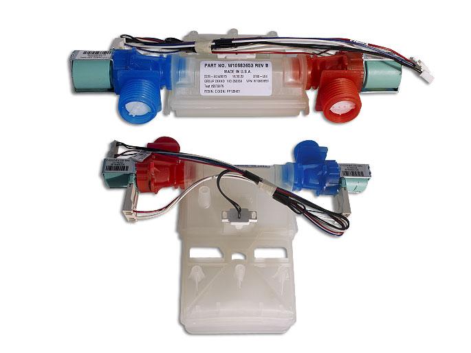 ELECTROVALVULA C/TERMISTOR ROCIADOR RECTO  W10472844
