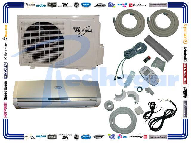Minisplit 1 Ton 115v 60hz Gris Frio Calor Redhogar