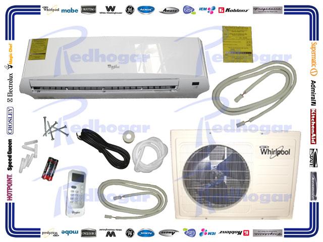 MINISPLIT BASIC 2 TON 220V  SOLO FRIO BLANCO WHIRLPOOL USAR WA3226Q