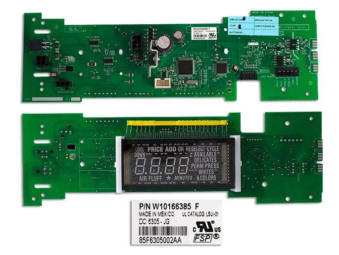 CONTROL ELECTRONICO USAR W10166385 W10166387 W10137416