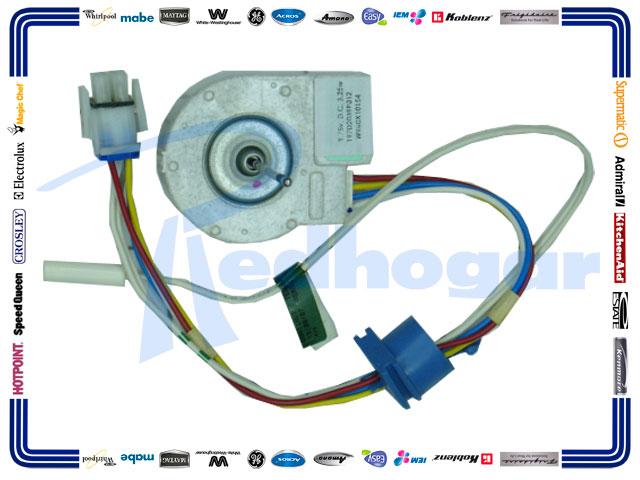 MOTOR ESQ. F/LARGA 9.75 V DC EVAPORADOR  C/TERMI  WR60X10154 USAR WR197D2039P013
