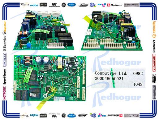 TARJETA CONTROL PRINCIPAL 7 CONECTORES