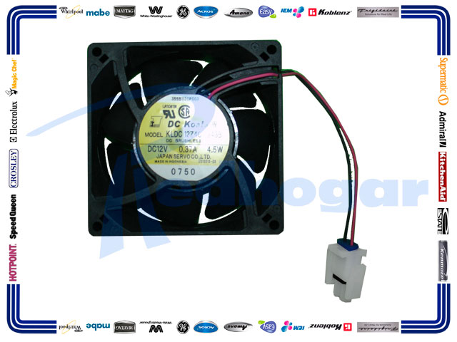 MOTOR 12 VOLTS 4.5 WAT REFORZADO MISMO WR355B1130P002,P003
