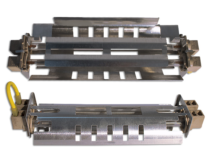 RESISTENCIA DOBLE 127V 24CM SUST. WR51X10053, WR51X10101, WR51X10097, WR51X10032