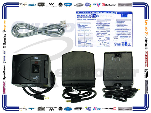 REGULADOR PROTECCION TEL/INTERNET/FAX 1300 PLUS